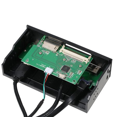 """Sunshine-tipway STW 5.25"""" Internal Card Reader Media Multi-Function Dashboard PC Front Panel Type-C USB 3.1 USB 3.0 Support CF MD XD MMC TF M2 MS - image 3 of 7"""