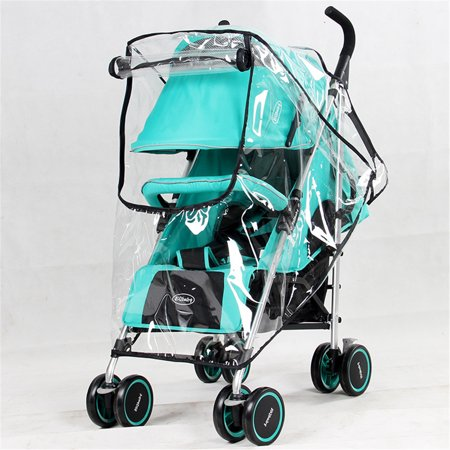 Mother & Kids Activity & Gear Baby Stroller Accessories Universal Waterproof Rain Cover Wind Dust Shield Zipper Open For Baby Strollers Pushchairs