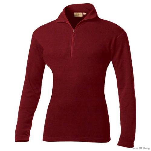 Minus33 Merino Wool Clothing  Women's 'Liberty' Merino Wool Lightweight 1/4-zip Base Layer Top