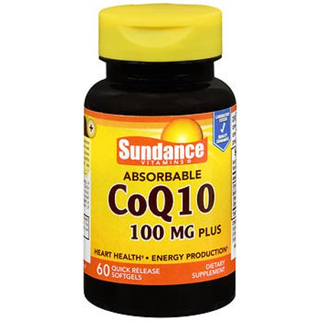 Sundance Vitamins Coq10 100 Mg Plus 60 Softgels