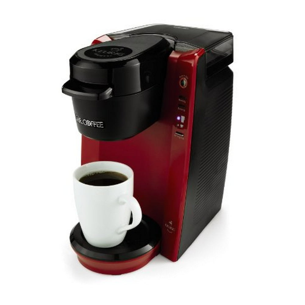 Mr Coffee BVMC KG5R Single Serve Brewer Machine Red