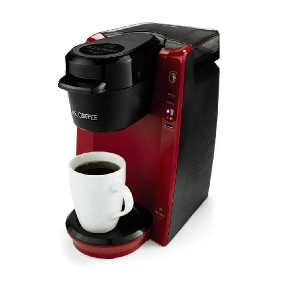 Mr Coffee Bvmc Kg5r Single Serve Coffee Brewer Machine Red