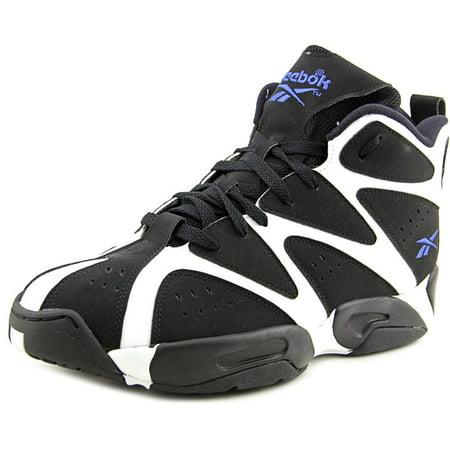 b4bfd0f37fcc Reebok - Reebok Kamikaze I Mid Men US 10.5 Black Basketball Shoe -  Walmart.com