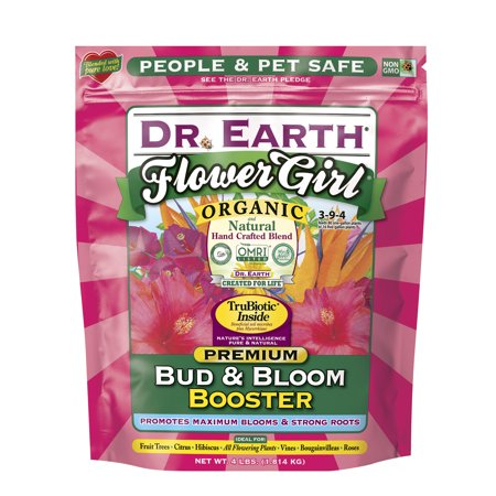 Dr. Earth Organic & Natural Annual Bloom Flower Garden Fertilizer, 4