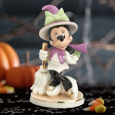 Lenox Disney Showcase Collection 842701 Bewitching Minnie Figurine - Lenox Walt Disney Showcase