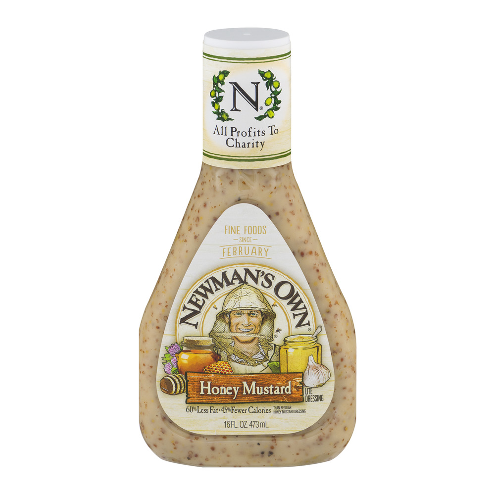 Newman's Own Honey Mustard Lite Dressing, 16.0 FL OZ