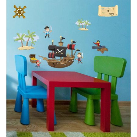 Pirate Wall Decals - Pirate Decals