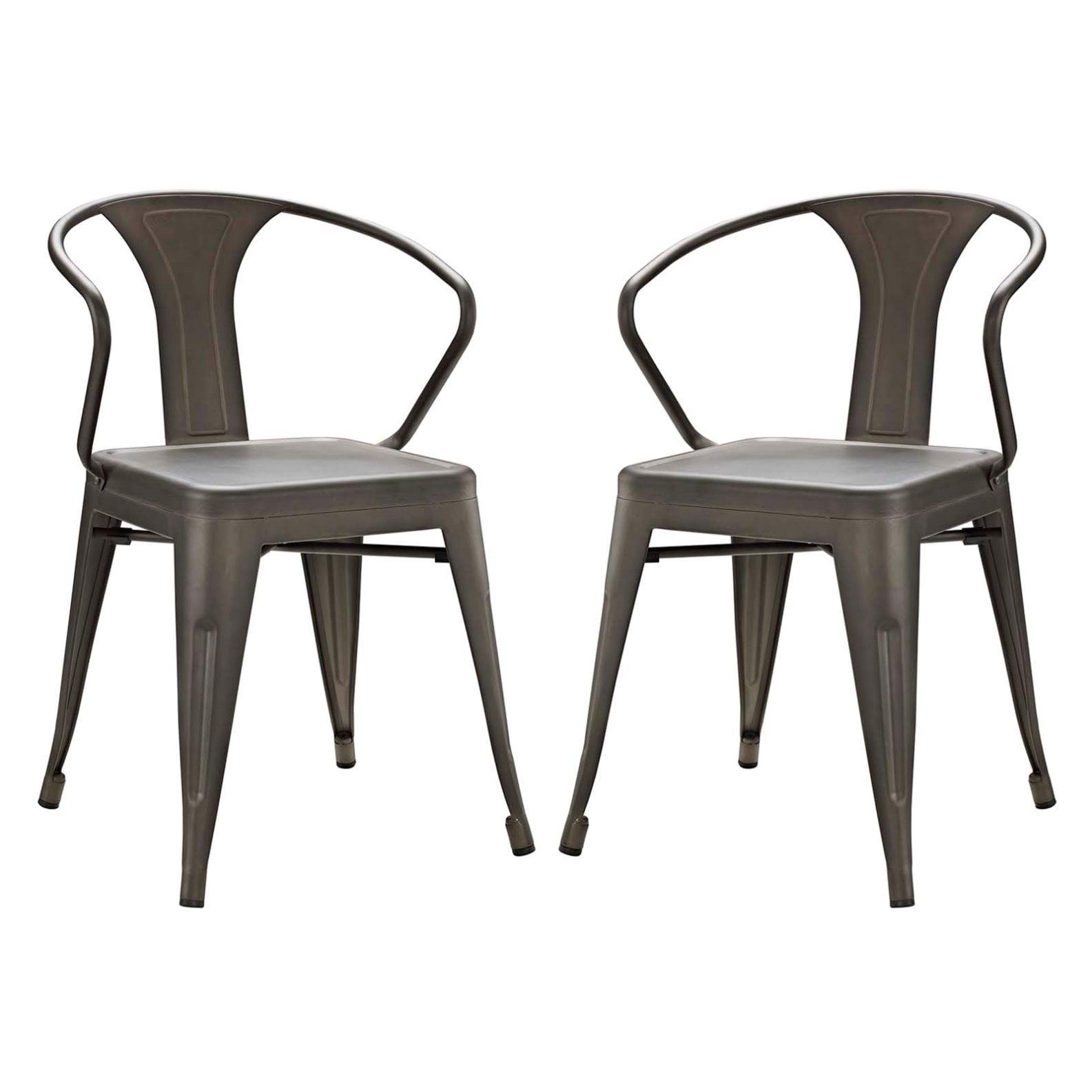 Modern Contemporary Urban Design Kitchen Dining Side Chair: Modern Contemporary Urban Design Industrial Distressed