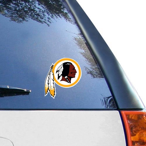 "Washington Redskins WinCraft Logo 4"" x 4"" Color Perfect Cut Decal - No Size"