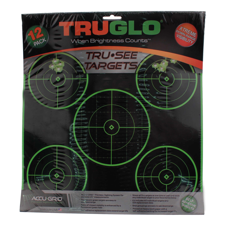 Truglo Target 5-Bull 12X12 12 Pack