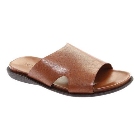 Kenneth Cole Sand-Y Beach Men's Leather Slide Sandal