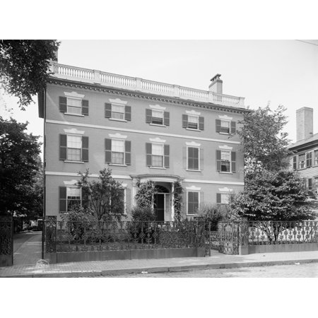 Gardner Pingree House Nthe Federal Style Gardner Pingree House At 128 Essex Street In Salem Massachusetts Built By Samuel Mcintire In 1804 Photograph C1906 Poster Print By Granger Collection