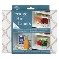 Deals on 3-Pack Envision Home Non-Adhesive Fridge Bin & Shelf Liners