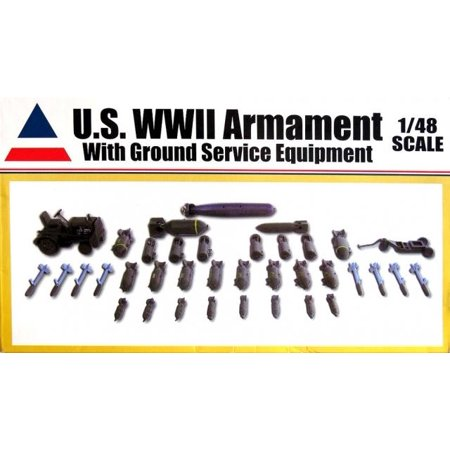 Accurate Miniatures 9900 WWII Allied Aircraft Armament Set 1/48 (Aircraft Accessories)