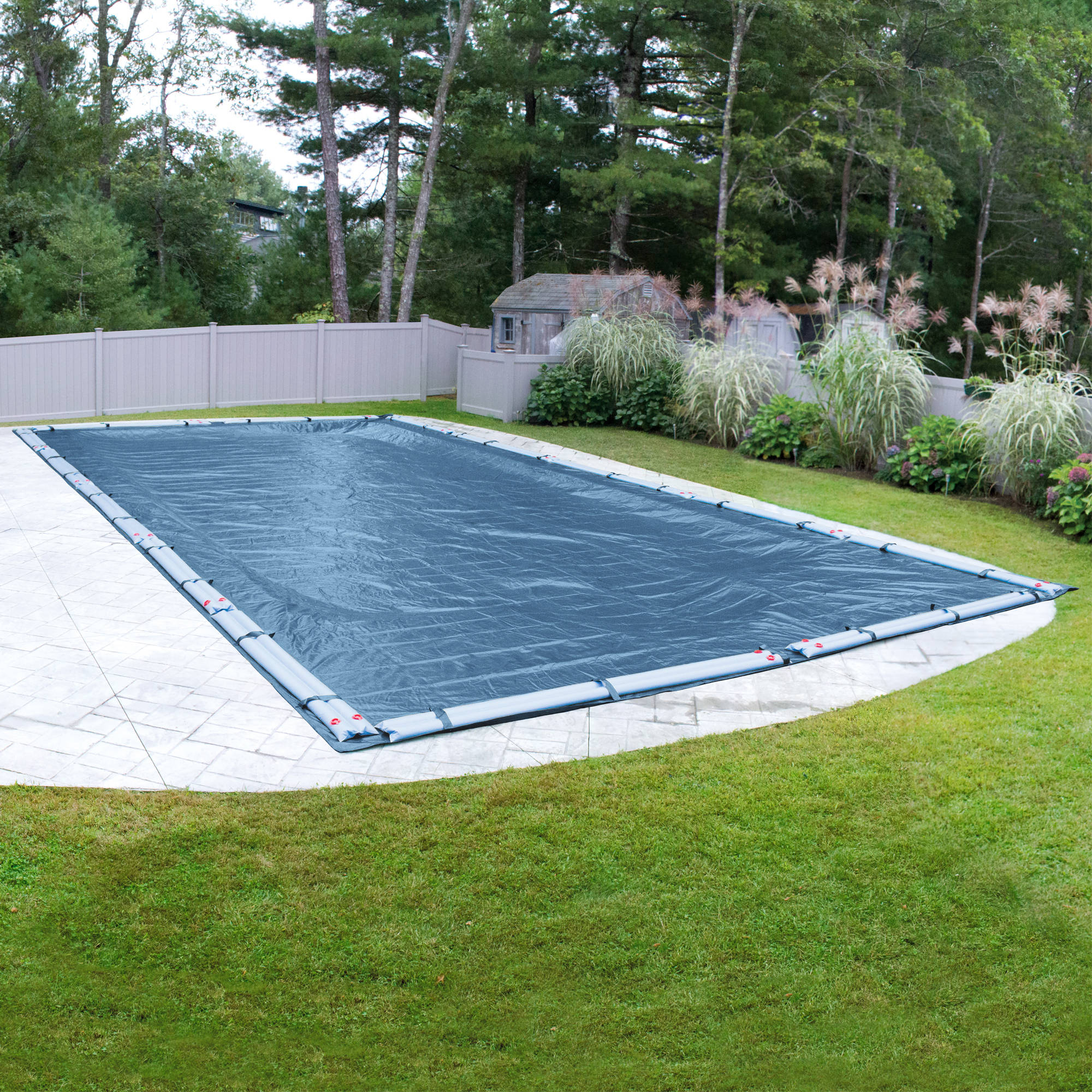 Robelle Super Winter Swimming Pool Cover for In-Ground Swimming Pools