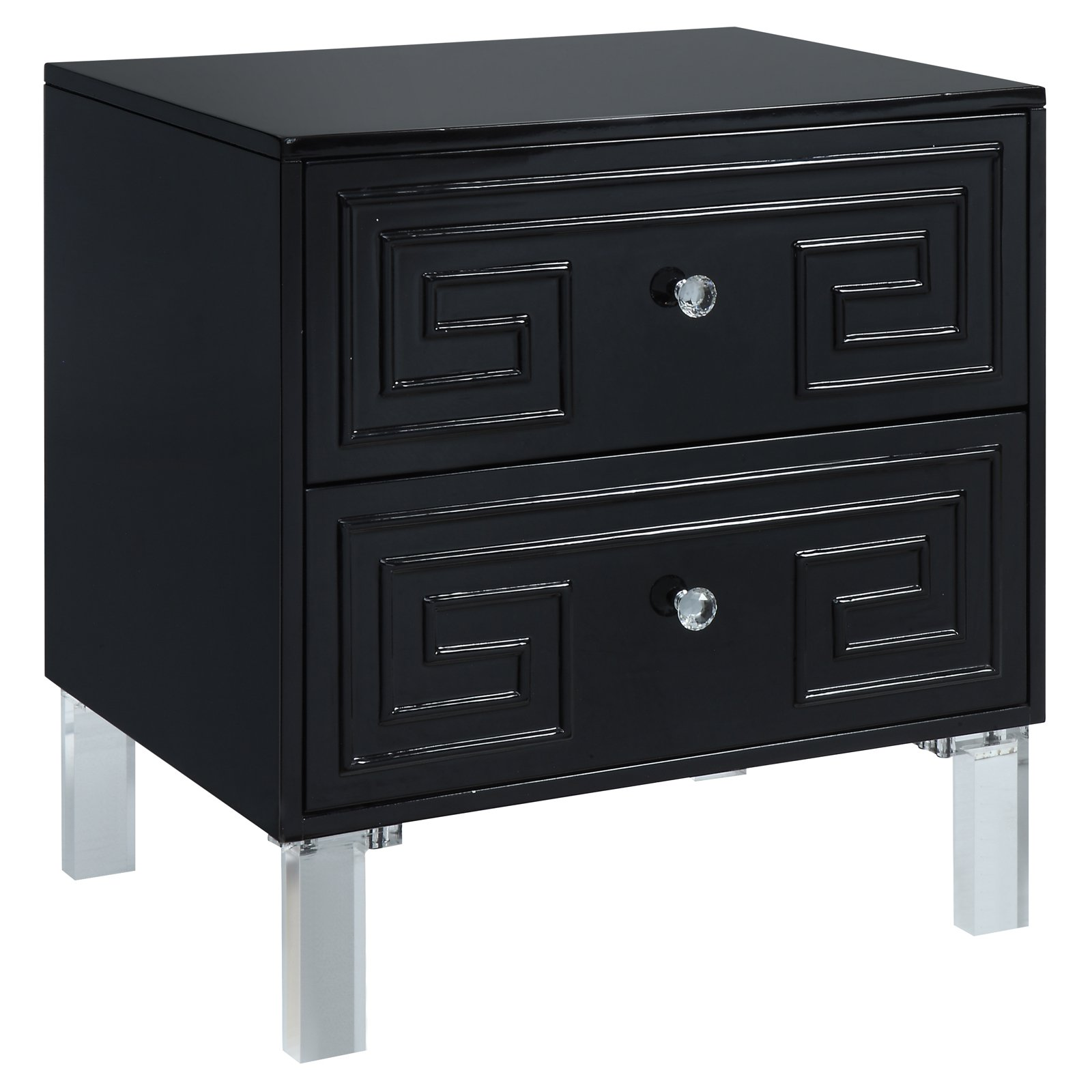 Furniture of America Lela Contemporary Side Table