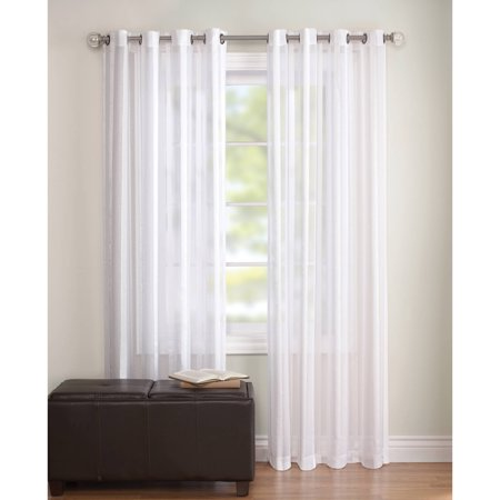 Better Homes And Gardens Toby Textured Stripe Sheer Window