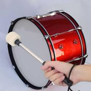 Mgaxyff Durable Bass Drum Mallet Drumstick with Wool Felt Head Percussion Marching Band Accessory, Bass Drum Mallet