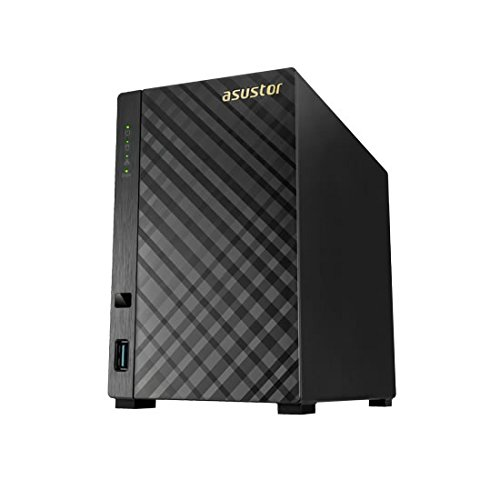Asustor As3102t Nas Server - Intel Celeron N3050 Dual-cor...