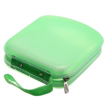 40 Disc CD VCD DVD Album Wallet Holder DJ Media Video Storage Case Bag Organizer - image 3 of 4