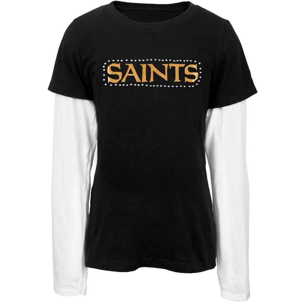 New Orleans Saints - Jewel Team Name Girls Juvy 2fer
