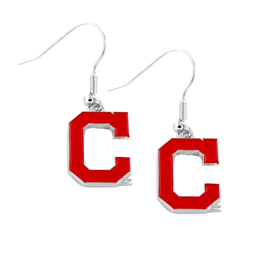 Chicago Cubs MLB Licensed Team Logo Dangle Earrings