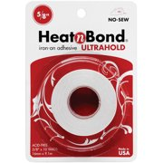 "Heat'n Bond Ultra Hold Iron-On Adhesive-.625""X10yd"