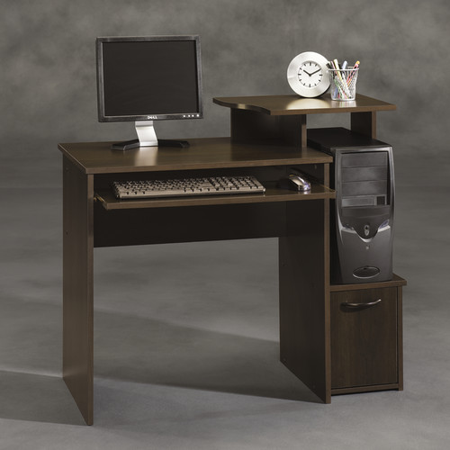 Sauder Beginnings Student Desk Cinnamon Cherry Walmartcom