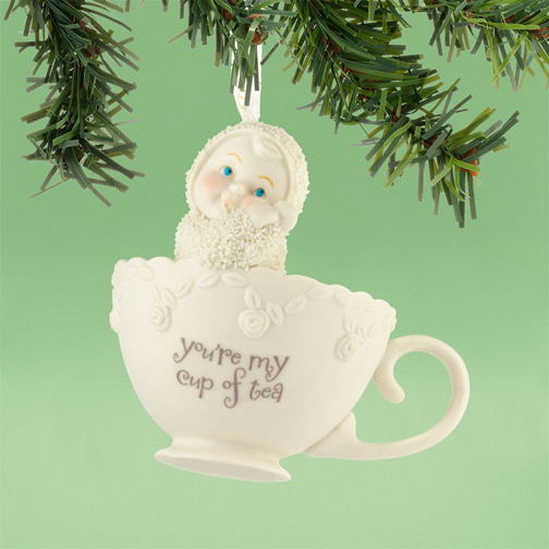 Department 56 Snowbabies 4031811 You're My Cup Of Tea Ornament 2013