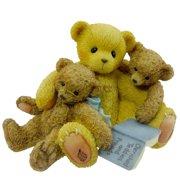 Caleb And Friends Teddy Bear Friend Book - Resin 3.00 IN By Cherished Teddies
