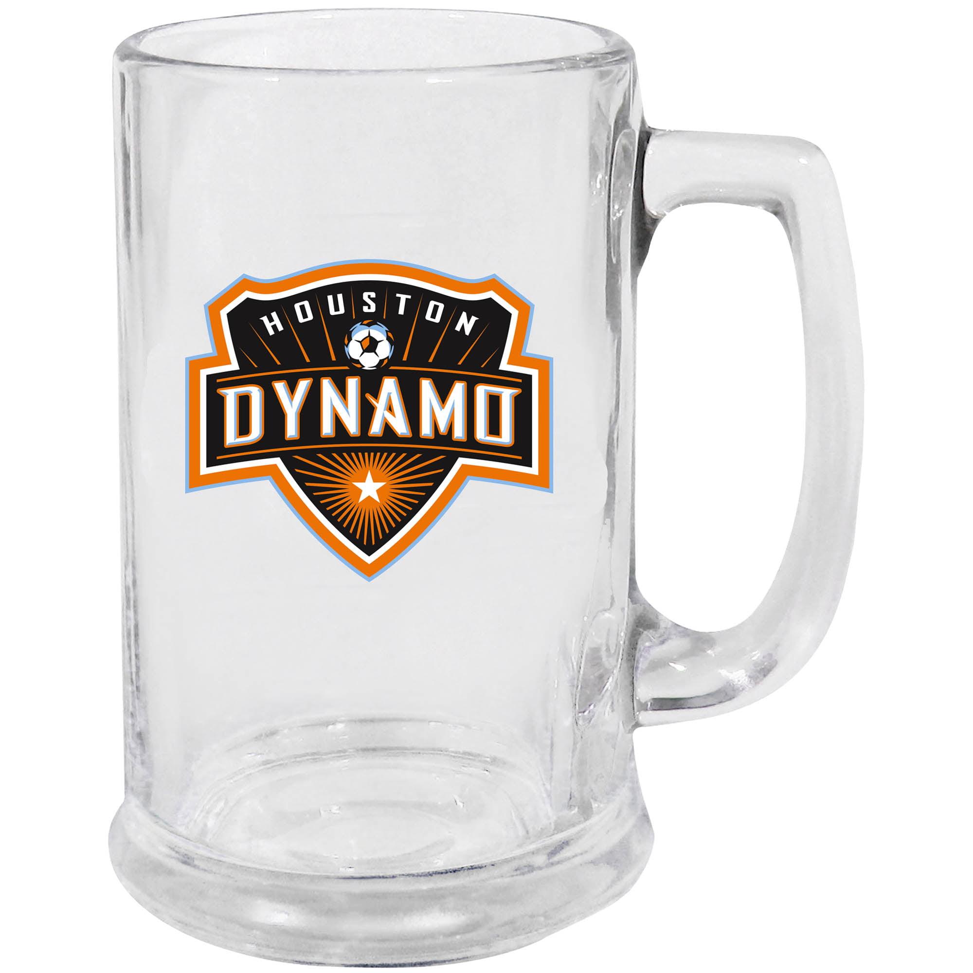 Houston Dynamo 15oz. Glass Stein - No Size