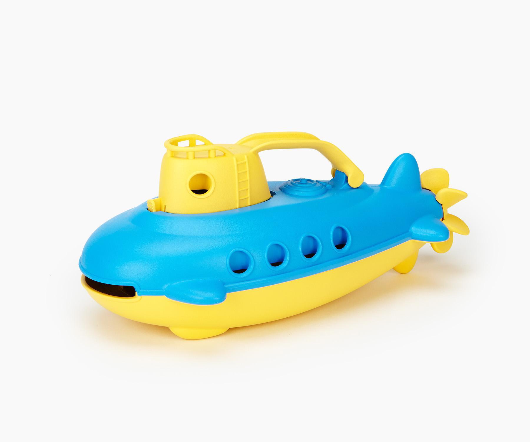 Yellow Cabin Green Toys Submarine