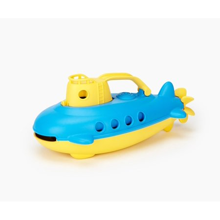Green Toys Submarine, Yellow Top (Miniature Submarine Toy)