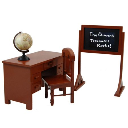 Prime 18 In Doll Furniture Accessory School Teachers Desk Home Interior And Landscaping Ologienasavecom