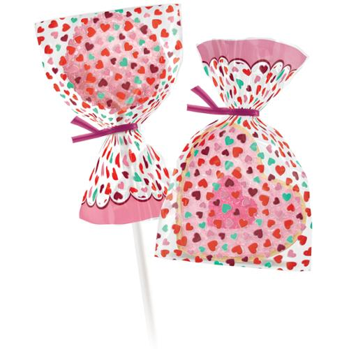 Mini Treat Bags 25/Pkg-Valentine