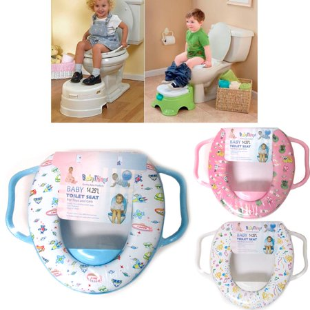 Baby Toilet Seat Potty Training Soft Padded Cover Trainer