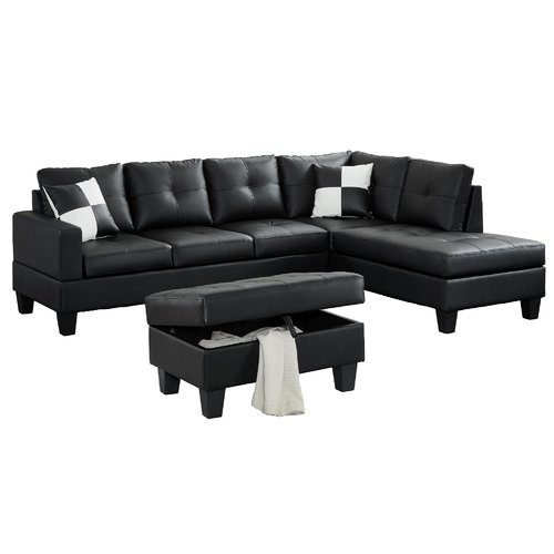 Winston Porter Redrick Sectional with Ottoman