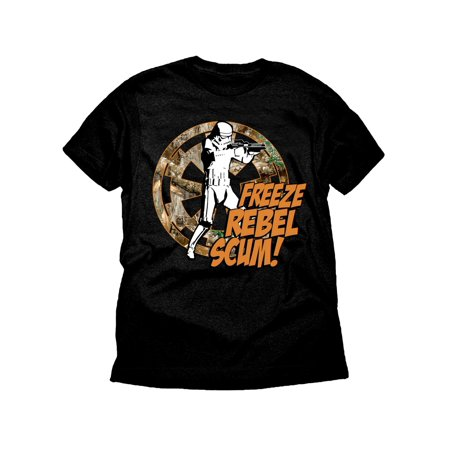 Star Wars Freeze Rebel Stormtrooper Realtree Boys Black Graphic T-Shirt](Star Wars Gifts For Boys)