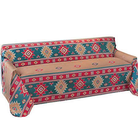 Southwest Aztec Furniture Throw Cover Loveseat