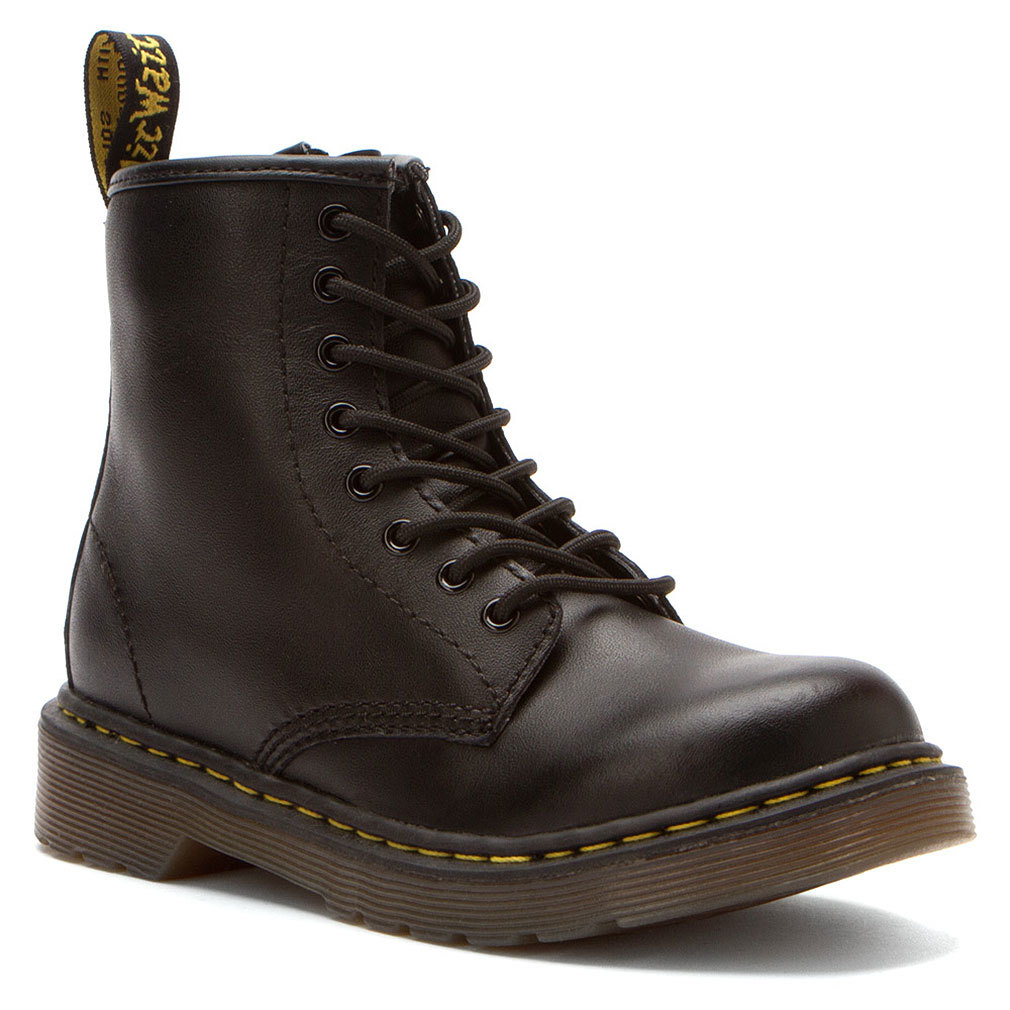 Dr. Martens Boy's DELANEY Black Boots 13 M UK 14 M by Dr. MARTENS