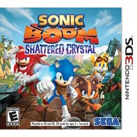 SonicBoom ShatteredCrystal, SEGA, Nintendo 3DS, 010086611144