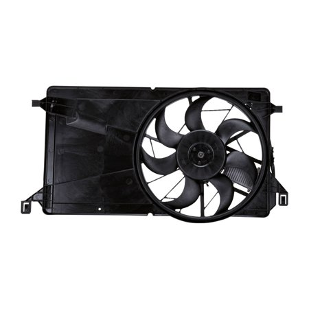 TYC 621270 Radiator And Condenser Fan Assembly Replacement for 04-09 MAZDA (Mazda 323 Protege Radiator)