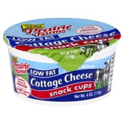 Prairie Farms Low Fat Cottage Cheese, 4 Oz. Snack Cup