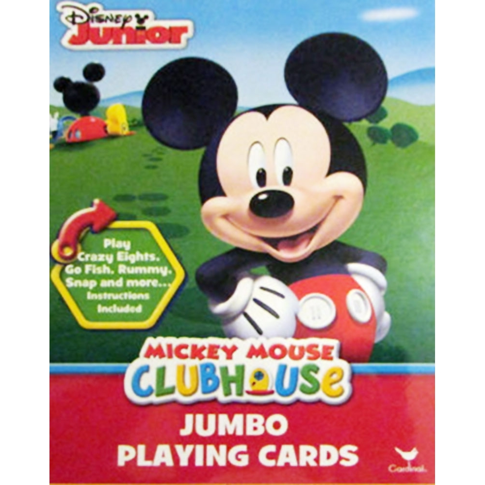 Mickey Mouse Jumbo Card Deck,  Mickey Mouse by Cardinal