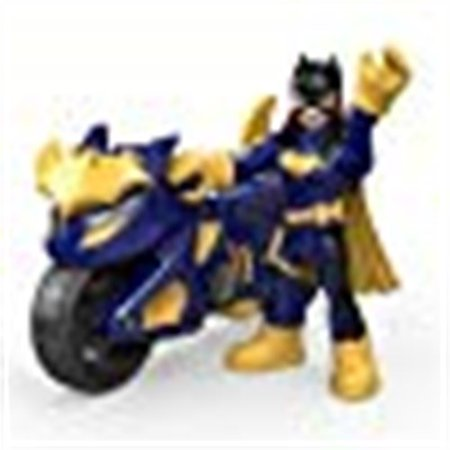 - DC Super Friends Batgirl and Cycle