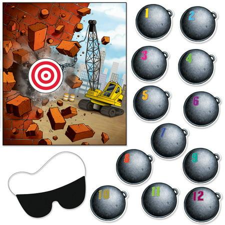 Pin The Wrecking Ball On The Crane - Wrecking Ball Games