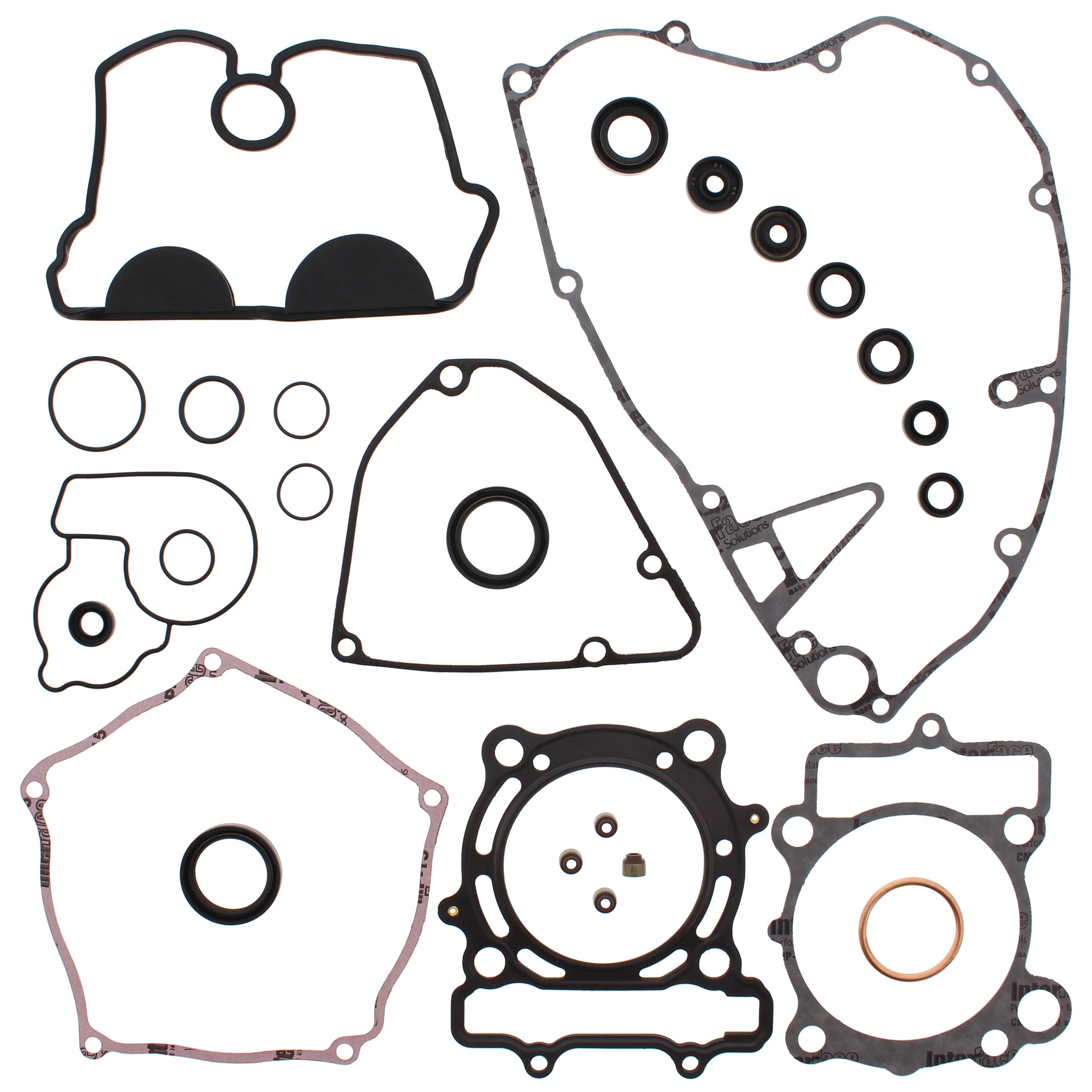 New Complete Gasket Kit w/ Oil Seals Kawasaki KX250F 250cc