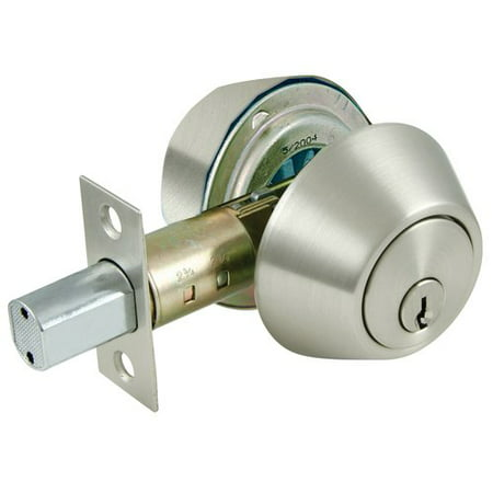 Ultra 43626 Satin Nickel Double Cylinder Deadbolt
