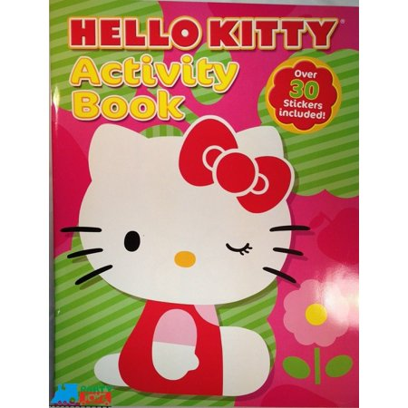 Hello Kitty Coloring and Activity Book With 30+ Stickers