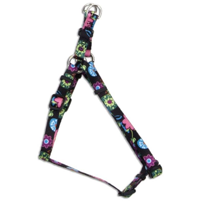 66345 A WDF18 .38 in. Flower Adjustable Fashion Harness, Adjusts 12-18 in